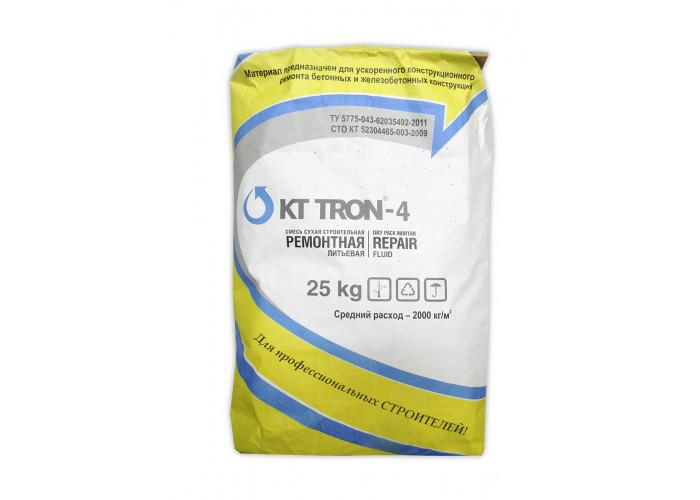 КТтрон-4 МФ (литьевой ремонтный состав с металлической фиброй)