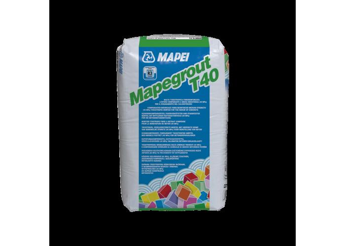 Mapei Mapegrout T40 (тиксотропный ремонтный состав средней прочности)